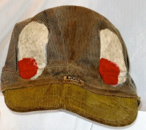 Duck Hat. Worn to sell the Great Speckled Bird at 14th and Peachtree, and everywhere else.