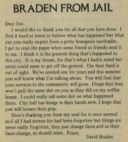 braden letter