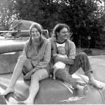 Lisa, David, J Sage June 1972