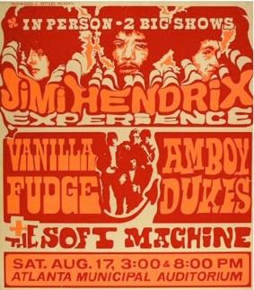 Poster Hendrix68atl