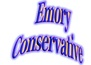 emory conservative