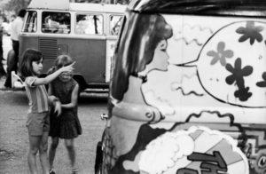 Close encounters with hippie van 1971